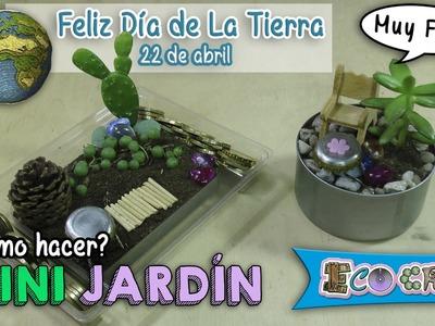 Cómo hacer un Mini jardin