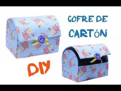 DIY - Cofre de Cartón