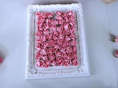 Regalo Decorado con Flores DIA DE LA MADRE**Colab  YMC