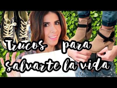 TRUCOS Y TIPS DE VIDA QUE TE SALVAN! (Life Hacks) por Lau