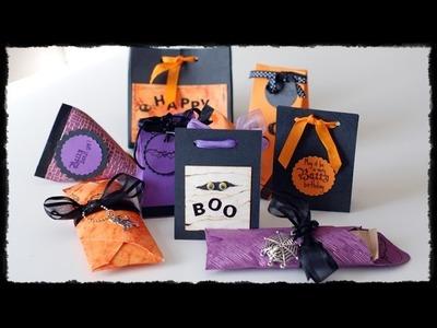 Tutorial cajas para dulces. Halloween