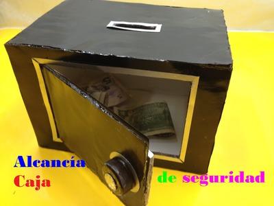 Cómo hacer Alcancía Caja de seguridad