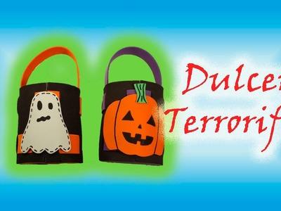 DIY | Dulcero para Día de muertos o Halloween | PumitaNegraArt