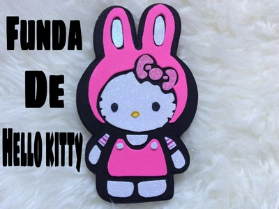Funda para telefono de hello kitty