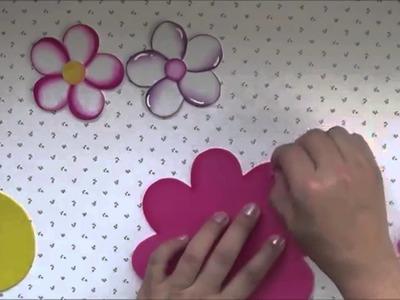 Técnicas para decorar la goma eva