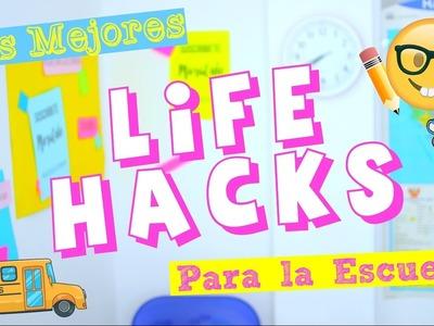 TRUCOS | LIFE HACKS PARA LA ESCUELA (Tips y mas) ♥ MoraCute