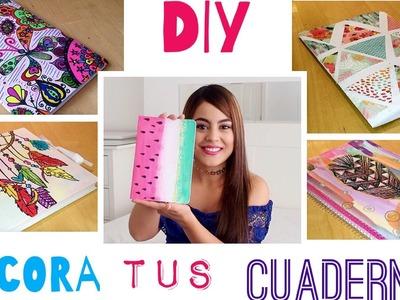 5 Ideas para decorar tus cuadernos - Mayra Alejandra