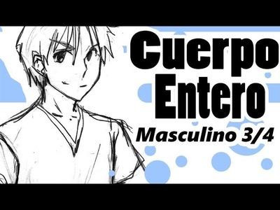 Como dibujar Manga | Cuerpo Masculino 3.4