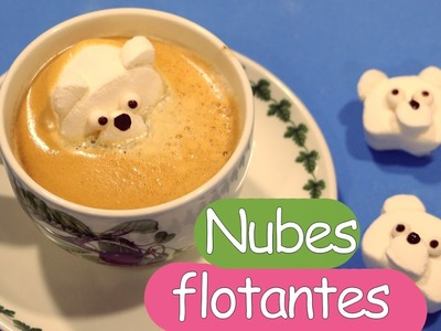 Cómo hacer nubes o marshmallows flotantes para fiestas