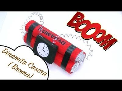 Como hacer una Bomba - Dinamita casera