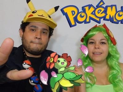 Disfraz de Pokémon en pareja