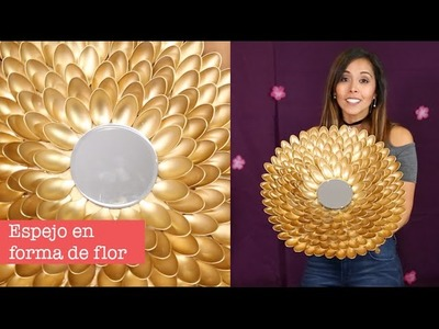 Hazlo Tu Mismo: Espejo con cucharas de plástico - Princesas Del Rey Canal