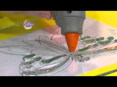 Martín Muñoz - Bienvenidas en HD - Crea mariposas laqueadas con hotmelt.
