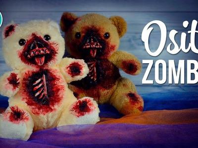 Osito Zombie para Halloween | DREEN