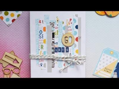 Tutorial mini book de viaje * Scraptools