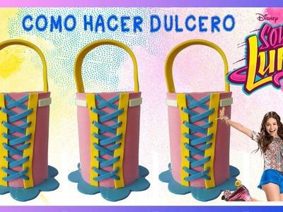 COMO HACER DULCERO SOY LUNA CON FOAMI FACIL Y ECONOMICO