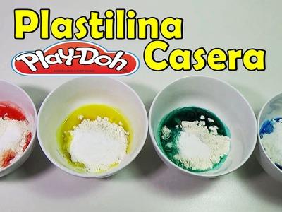 Como Hacer Plastilina Casera Paso a Paso, Fácil | FunKeep