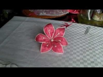 Como hacer una lili armada de tela