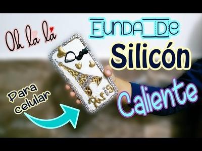 Funda de SILICON caliente para celular de PARIS