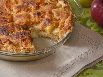 Pay de manzana con queso - receta de postres fáciles
