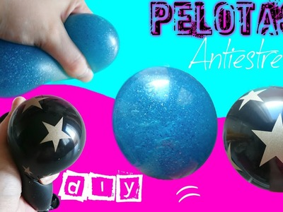 Pelotas Antiestres de SLIME DIY Squishy Slime Stress Ball