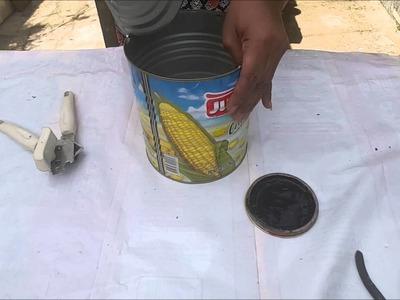 Diy. Vaso de papel e cimento com encaixe, parte 2(MACETA DE PAPEL Y CEMENTO CON ENCAJE 2))