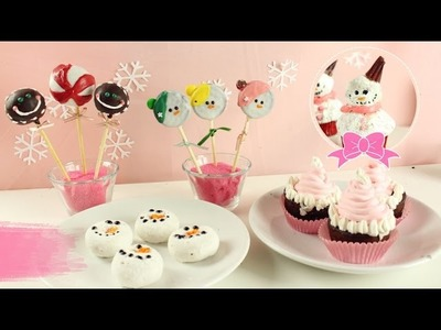 5 Snacks Kawaii Para Navidad | Postres Fáciles | Akari Beauty