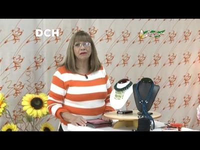 Collar con Trapillo y Cristales - Yasna Pino - Casa Puchinni