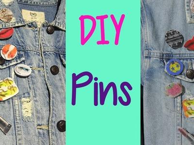Cómo hacer pins para tu ropa