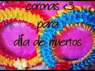 CORONAS PARA DIA DE MUERTOS, 2 de noviembre - Dare