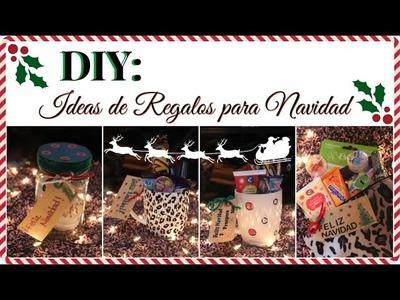 DIY: 4 Ideas de regalo para Navidad