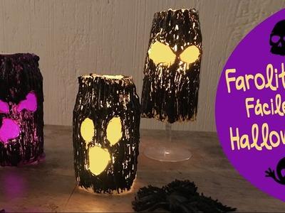 Farolitos Decorativos para Halloween con Frascos :: Chuladas Creativas