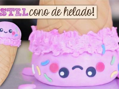 Pastel Cono de Helado. Dacosta's Bakery