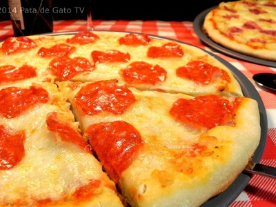 Pizza y salsa casera, paso a paso. Homemade pizza and sauce, step by step