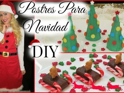 Postres Super Faciles Para Navidad! Navidad Con: Glam Barbie Episodio #6