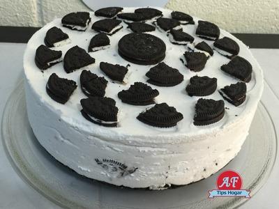 Cheese cake de galletas oreo congelado