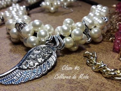 Collares De Perlas de Moda. (Clase #6)