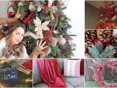 ¿Cómo decorar ARBOL DE NAVIDAD? paso a paso . LOS MEJORES TIPS + DECORACIONES DE NAVIDAD!!!