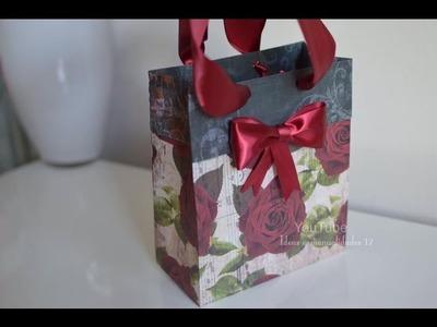 Como Hacer bolsas de regalo