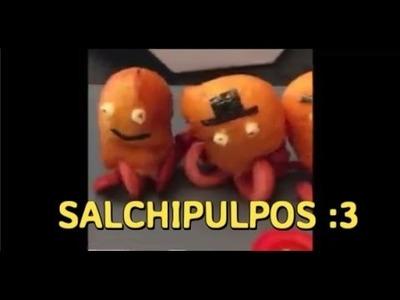 Cómo hacer salchipulpos ¡SUPER FÁCIL en 38 segundos!