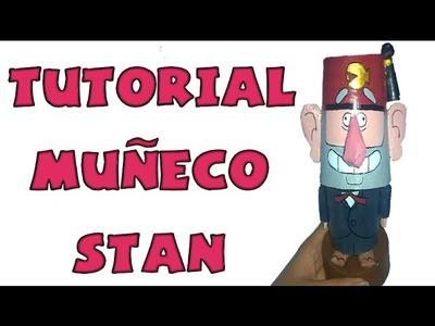Cómo hacer un muñeco bobblehead de Stan - Tutorial Gravity Falls