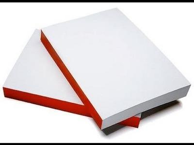 Como hacer una libreta casera