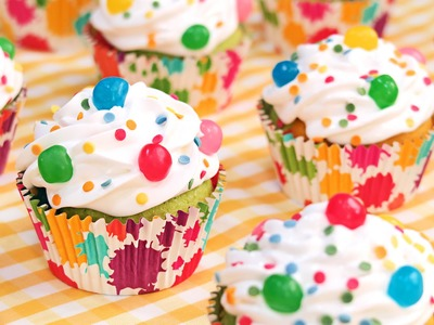 Cupcakes Arcoiris o de Colores para Niños