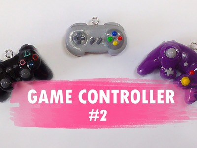 Game Controller #2 Polymer Clay Tutorial. Controlador. Ps3. Super Nintendo. GameCube