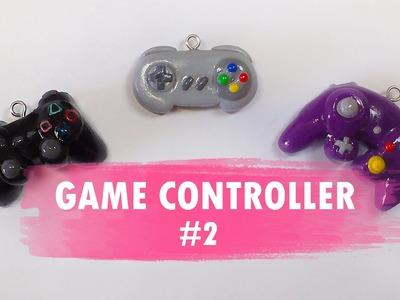 Game Controller #2 Polymer Clay Tutorial. Controlador. Ps3. Super Nintendo. GameCube
