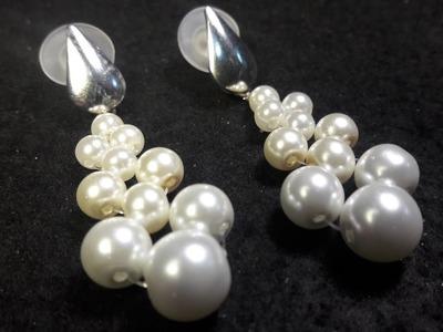 Aros faciles de perlas. .Clase #23