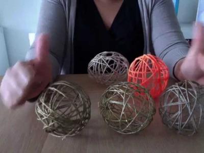 Cómo hacer bolas o esferas de navidad originales y elegantes!