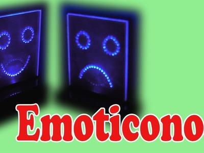 Cómo Hacer Emoticonos Luminosos (Muy fácil de hacer)