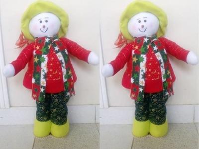 Como hacer Un Muñeco De nieve Parado