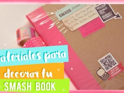 Materiales para Decorar tu Smash Book | Scrap + More